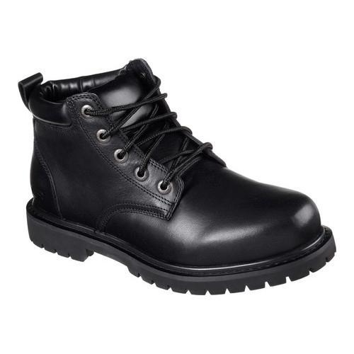 Shop Men s Skechers Work Relaxed Fit Cottonwood Arbyrd Non-Slip Boot Black  - Free Shipping Today - Overstock - 15404022 d1ededbe4659