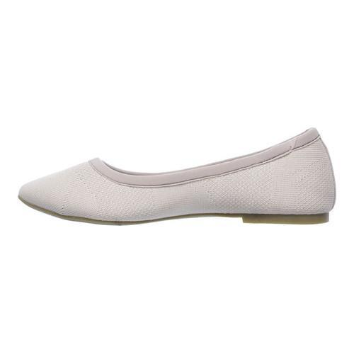 Women's Skechers Cleo Sass Ballet Flat Taupe - Thumbnail 2