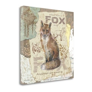 Fox Trot By Anita Phillips, Gallery Wrap Canvas