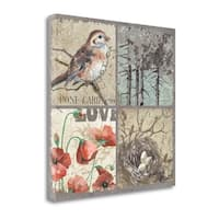 Bird 4 Patch III By Anita Phillips,  Gallery Wrap Canvas