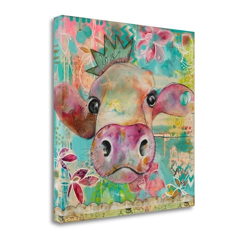 Love Cow by Denise Braun, Gallery Wrap Canvas