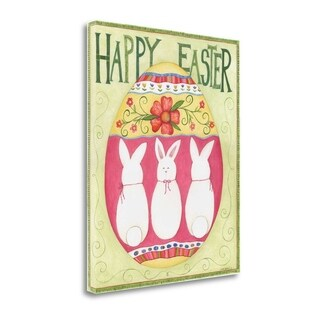 Easter Happy II By Cindy Shamp, Gallery Wrap Canvas