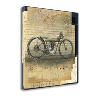 Antique Bike II By Andrew Sullivan,  Gallery Wrap Canvas