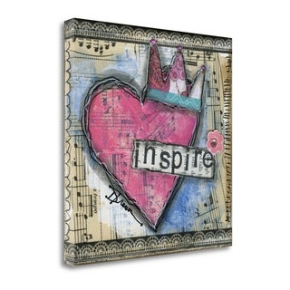 Inspire By Denise Braun,  Gallery Wrap Canvas