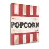 Popcorn By Cassandra Cushman,  Gallery Wrap Canvas