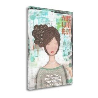 Girl By Cassandra Cushman,  Gallery Wrap Canvas