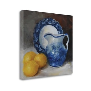 Blue Willow By Cheri Wollenberg,  Gallery Wrap Canvas
