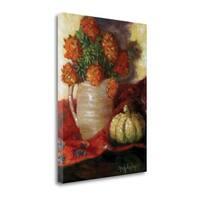 Marigolds II By Cheri Wollenberg,  Gallery Wrap Canvas