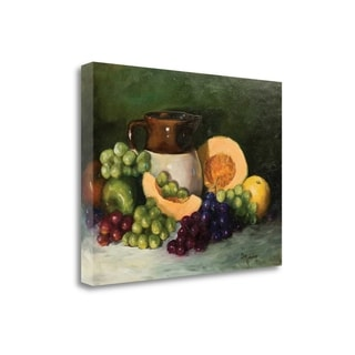 Cheri Wollenber 'Juicy Fruit' Gallery Wrapped Canvas