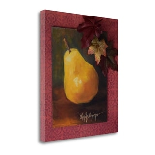 Autumn Pear By Cheri Wollenberg,  Gallery Wrap Canvas