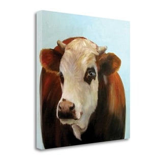 Cheri Wollenberg 'Daisie' Gallery Wrapped Giclee Canvas Wall Art