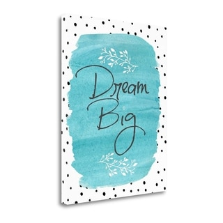 Dream Big By Jo Moulton,  Gallery Wrap Canvas