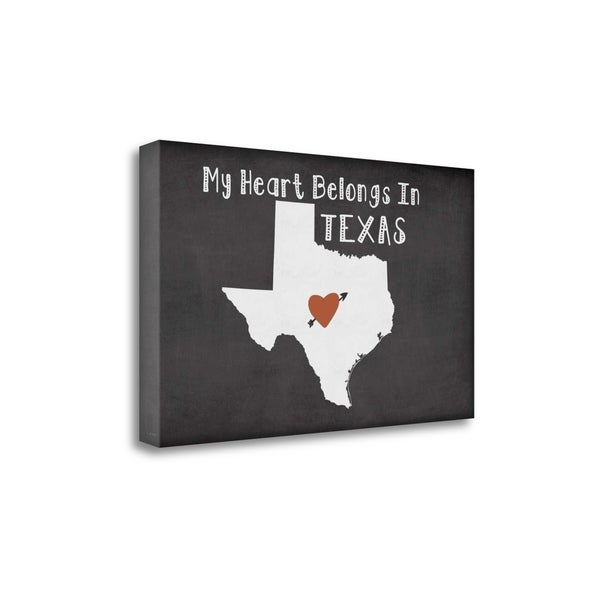 Texas Chalk By Jo Moulton, Gallery Wrap Canvas