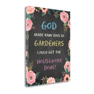 God Made - Floral By Jo Moulton,  Gallery Wrap Canvas