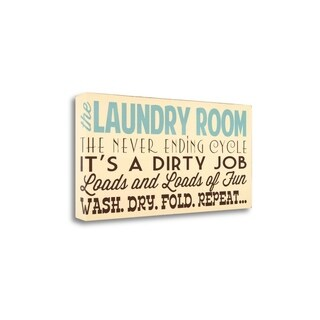 Laundry Room By Words For The Soul, Gallery Wrap Canvas