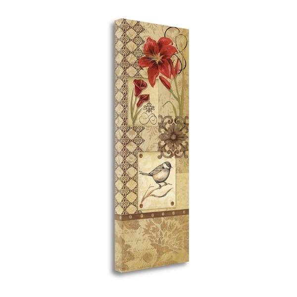 Floral Collage I By Jo Moulton,  Gallery Wrap Canvas 30414480