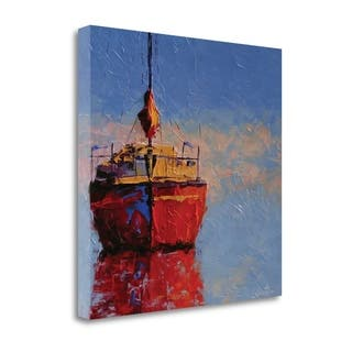 Just Waiting By Leslie Seata, Gallery Wrap Canvas