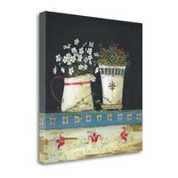 Country Floral By Jo Moulton,  Gallery Wrap Canvas