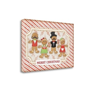 Gingerbread Christmas By Jennifer Pugh,  Gallery Wrap Canvas