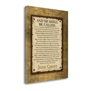 Names Of Christ By Jennifer Pugh, Gallery Wrap Canvas