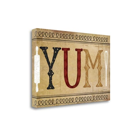 Yum By Jennifer Pugh, Gallery Wrap Canvas