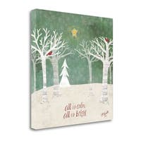 Christmas Trees By Katie Doucette,  Gallery Wrap Canvas
