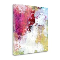 Rainbow Abstract By Sarah Ogren,  Gallery Wrap Canvas