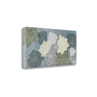Succulents II By Shanni Welsh, Gallery Wrap Canvas (4 options available)