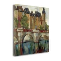 Paris - Late Summer II By Silvia Vassileva,  Gallery Wrap Canvas