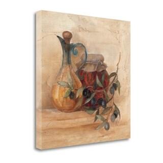 Tuscan Table IV - Wagmay 2008 Wag Line By Albena Hristova, Gallery Wrap Canvas