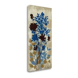 Spring Bouquet I On Tan By Silvia Vassileva,  Gallery Wrap Canvas