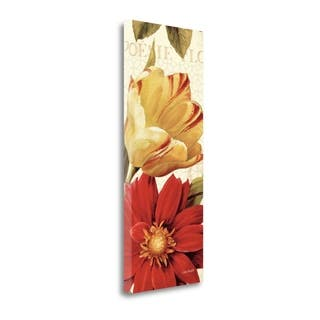 Poesie Florale Panel II By Lisa Audit, Gallery Wrap Canvas