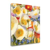 Sunny Abundance III By Shirley Novak,  Gallery Wrap Canvas