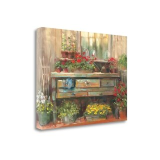 Gardners Table By Carol Rowan, Gallery Wrap Canvas