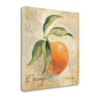 L Orange By Silvia Vassileva,  Gallery Wrap Canvas
