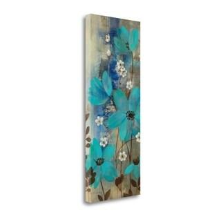 Floral Symphony Crop I By Silvia Vassileva,  Gallery Wrap Canvas