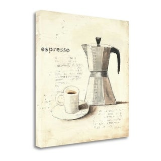 Parisian Coffee II By Emily Adams, Gallery Wrap Canvas