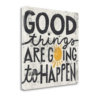 Good Things Are Going To Happen By Michael Mullan,  Gallery Wrap Canvas