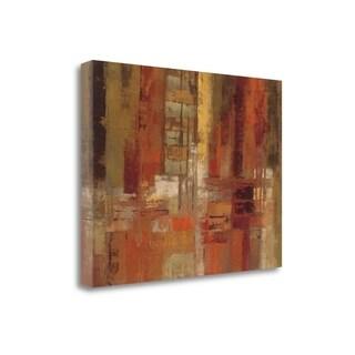 Sunset Street Crop By Silvia Vassileva,  Gallery Wrap Canvas