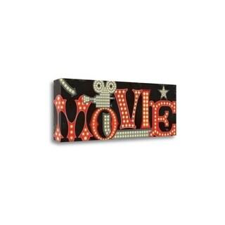 Movie Lights II By Pela Studio, Gallery Wrap Canvas