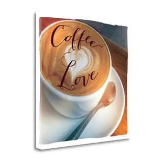 Coffee Love By Sue Schlabach, Gallery Wrap Canvas