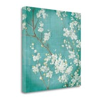 White Cherry Blossoms II By Danhui Nai,  Gallery Wrap Canvas