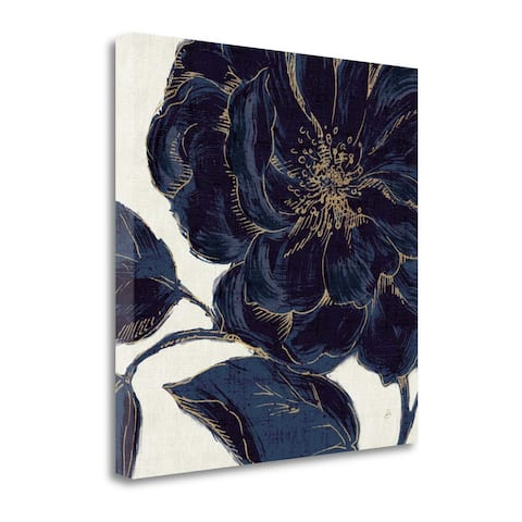 Indigo Garden II By Daphne Brissonnet, Gallery Wrap Canvas