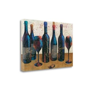 Wine Splash Light I By Wellington Studio, Gallery Wrap Canvas