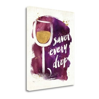 Watercolor Wine I By Pela Studio, Gallery Wrap Canvas
