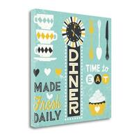 Retro Diner Collection Pattern Master By Michael Mullan,  Gallery Wrap Canvas