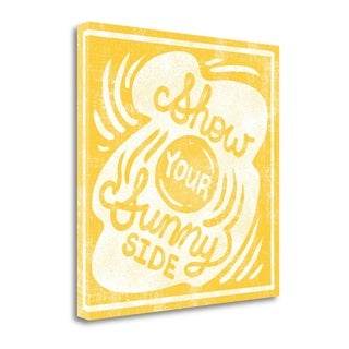 Sunny Side By Cleonique Hilsaca,  Gallery Wrap Canvas