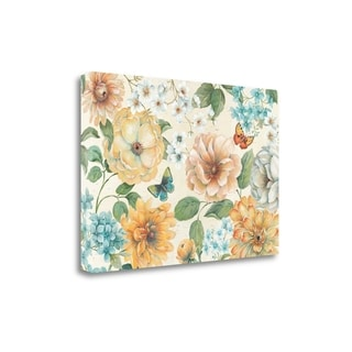 Butterfly Bloom I By Daphne Brissonnet,  Gallery Wrap Canvas
