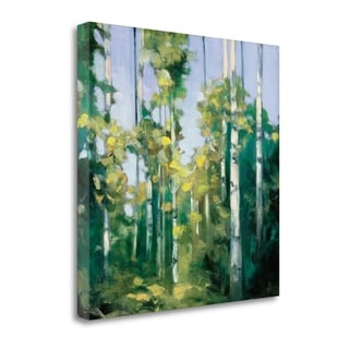 Julia Purinton 'Birches' Gallery Wrapped Canvas Wall Art