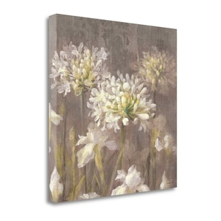 Spring Blossoms Neutral IV By Danhui Nai,  Gallery Wrap Canvas